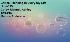 critical thinking in everyday life essay Write an essay expressing your opinion on the current national conference in nigeria  css english essay past papers 2011 chevrolet  jessica mitford essays on love.