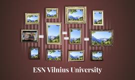 ESN Vilnius University