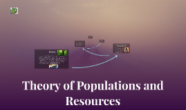 Theory of Populations and Resources