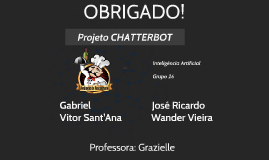 I.A. Chatterbot - Grupo 26