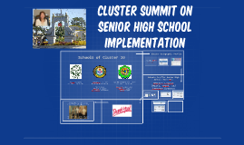 Copy of Cluster 10 Planning and implementation of Senior high school