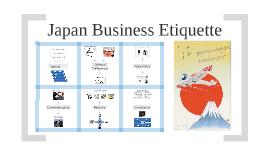 Japan Business Etiquette