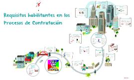 Requisitos habilitantes en los Procesos de Contratación