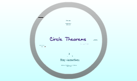 Copy of Circle theorems