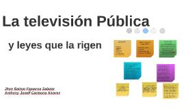 La televisión Pública