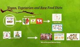 Vegan, Vegiteriansim and Raw Food Diets