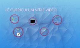 Le C.V. vidéo
