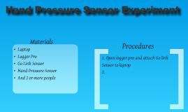 Hand Pressure Experiment