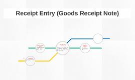 Receipt Entry