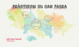 Pràcticum III: Can Fabra