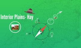 Interior Plains- Hay