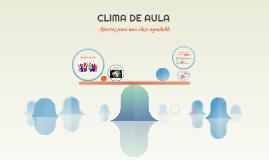CLIMA DE AULA