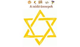 A zsidó ünnepek