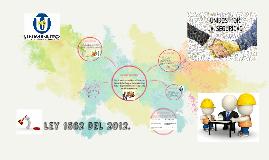 ley 1562 del 2012.