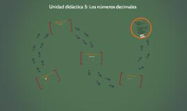 Copy of Unidad didáctica 5: Los números decimales