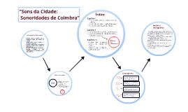 """""""Sons da Cidade: Sonoridades de Coimbra"""""""