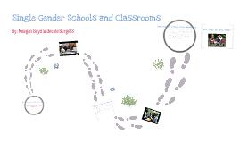 Single Gender Classrooms