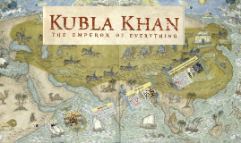 "MC Book Pitch ""Kubla Khan: The Emperor of Everything"""