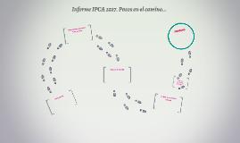 Informe IPCA 2017. Pasos en el camino...