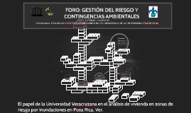 El papel de la Universidad Veracruzana en el análisis de viv