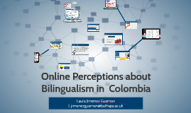 Online Perceptions about Bilingualism in  Colombia
