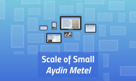 Scale of Small