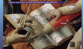 Copia de BLOQUE 2 IDENTIFICA LAS ESCUELAS DE INTERPRETACIÓN HISTÓRICA