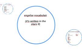 engelse vocabulair