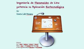 Ingeniería de Flavonoides de Lino