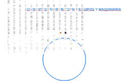 ACCIDENTES EN OPERACIÓN Y MANEJO DE   EQUIPOS