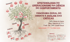 Copy of EPISTEMOLOGIA DO OPERACIONISMO NA CIÊNCIA DO COMPORTAMENTO: