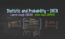Statistic and Probability - Data