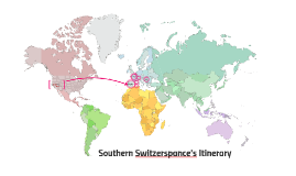 Southern Switzerspance's Itinerary