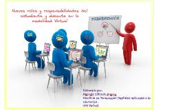Copy of Rol del estudiante y docente virtual