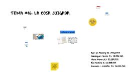Copy of TEMA #16: LA COSA JUZGADA