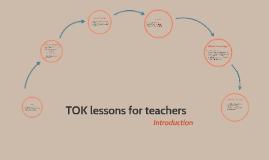 TOK lessons for teachers