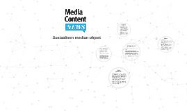 Media Content Newsin sosiaalisen median ohjeet
