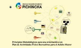 Metodología para un Plan de Actividades F. R. A. Mayores.- Prof. Freddy Moreno.