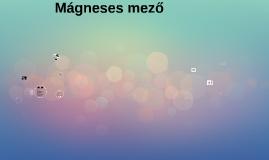 Mágneses mező