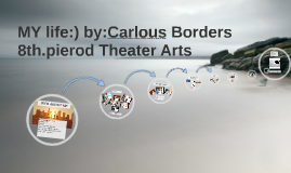 MY life:) by:Carlous Borders 8th.pierod Theatre Arts