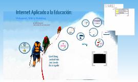 Internet aplicado a la educación
