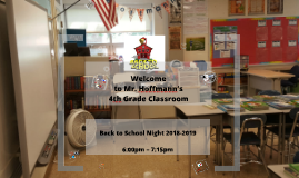 Copy of Back to School Night- 2018
