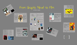 Copy of graphic novels to film