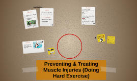 Preventing & Treating cle Injuries (Doing Hard Exercise)