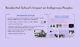 Residential School's Impact on Indigenous Peoples