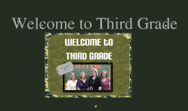 Sem 3rd Grade Curriculum Night Sept.2011