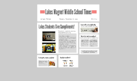 Lakes Magnet Middle School Times