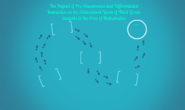 The Impact of Pre-Assessments and Differentiated Instruction