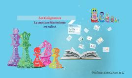 Copia de Copy of Los Caligramas