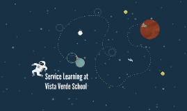 Service Learning at Vista Verde School